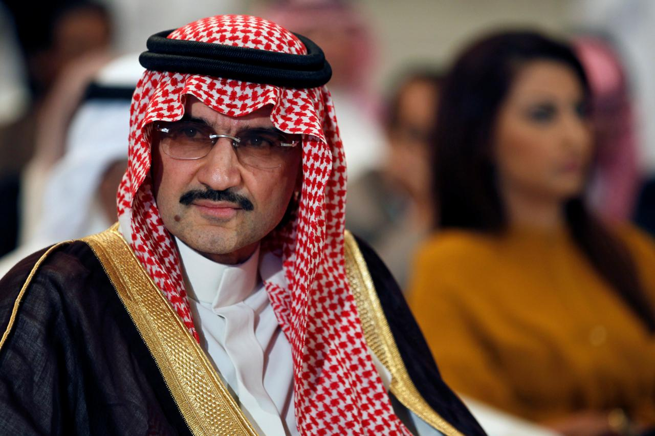 Shares of Saudi Prince's Firm Surge After His Release