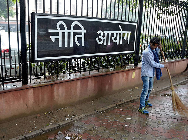 The two economists worked out of the Niti Aayog office because EPFO data could not be taken out. Credit: Reuters