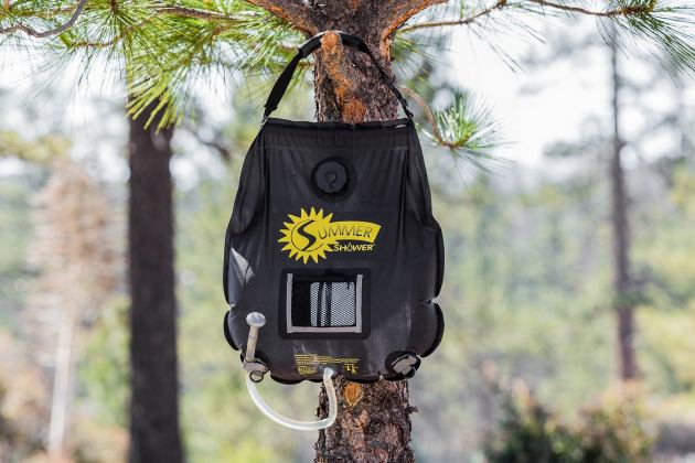 The Best Solar Camp Shower