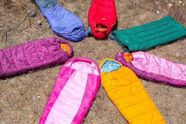 the sleeping bags we like for kids for