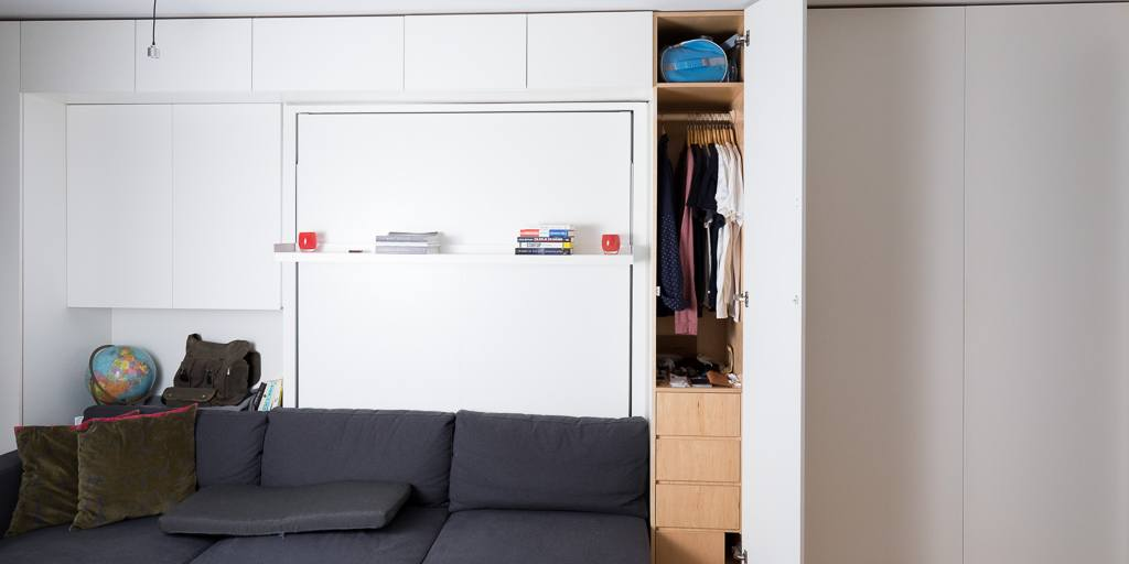 Tiny Apartment Storage Ideas
