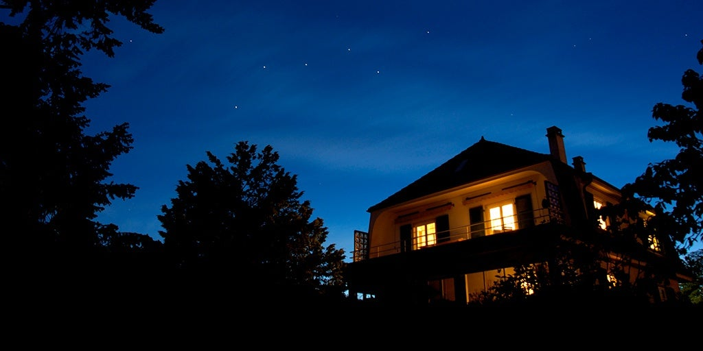 smart lights enhance home security