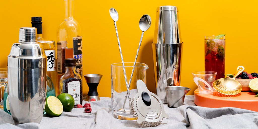 the best barware for making cocktails