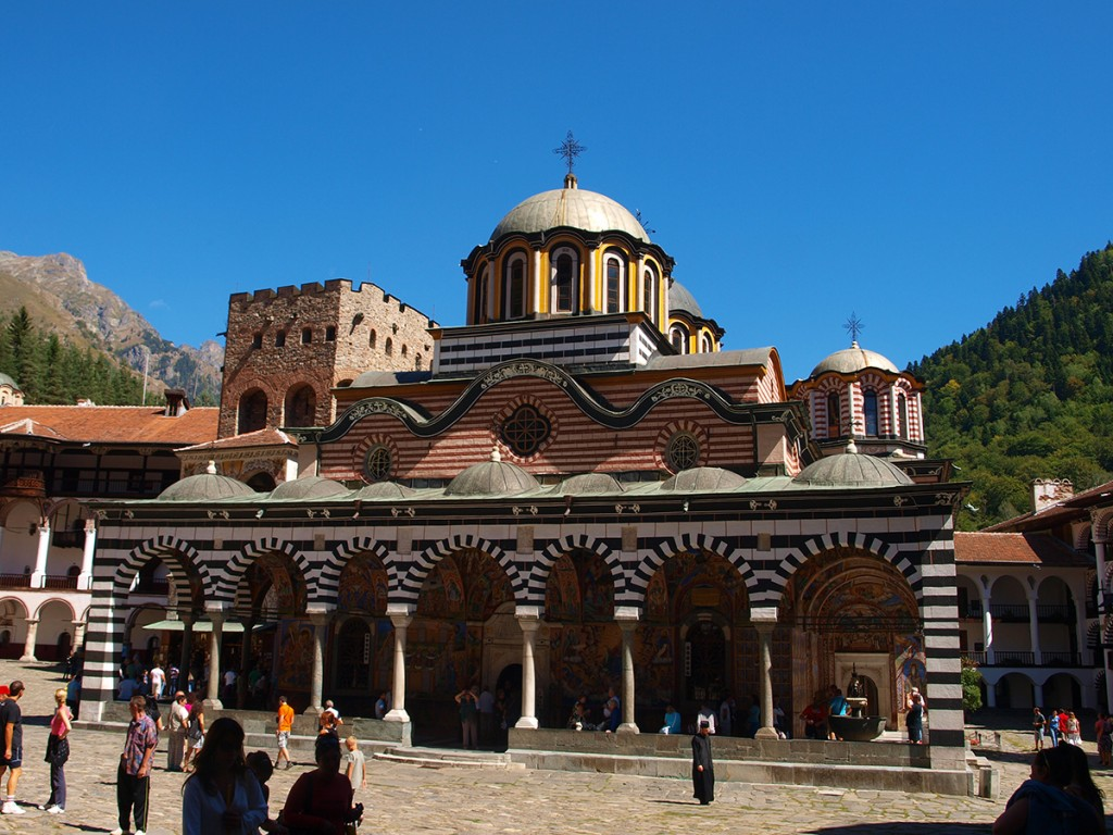 1000 years old rila monastery