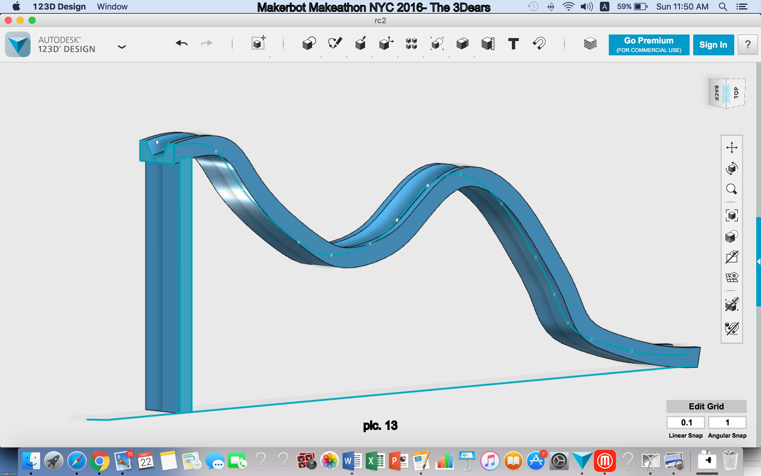 Designing A Mathematical Rollercoaster By A Lman