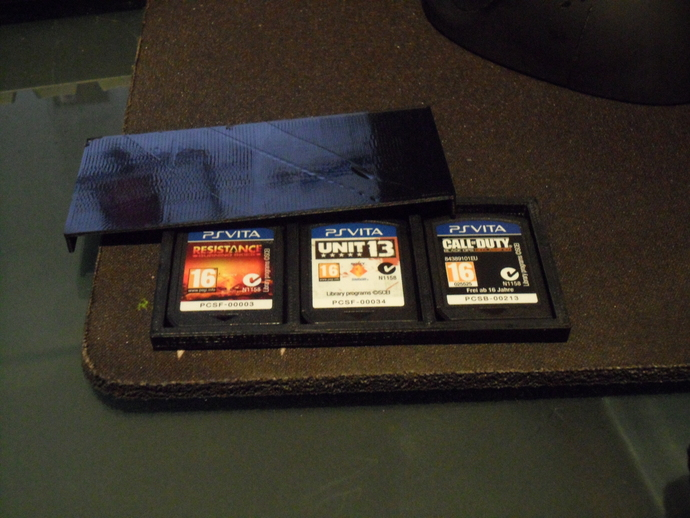 PS Vita Game Cartridge Case By Zed