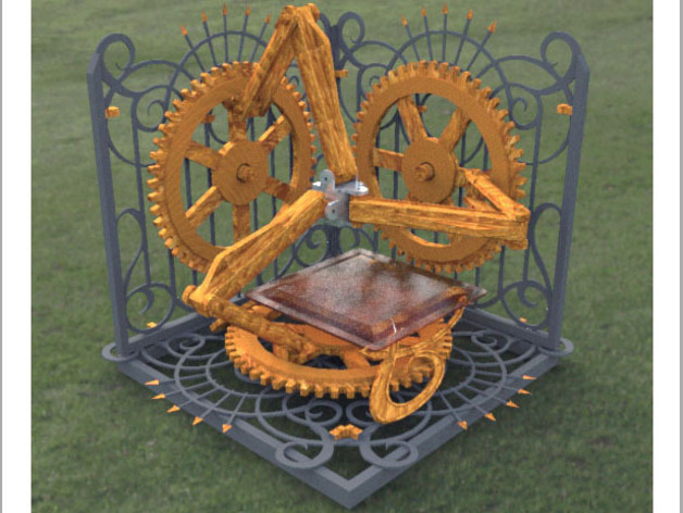 Steampunk 3d Printer By Torleif Thingiverse