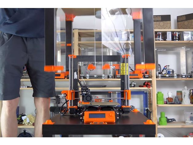 Original Prusa I3 MK3 ENCLOSURE Ikea Lack Table Prusa