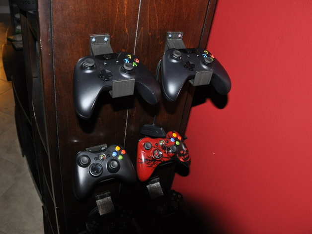 Xbox One Controller WallFurniture Mount By Rmorales1259
