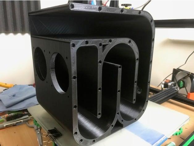 Bluetooth Speaker Quarter Wave Transmission Line By