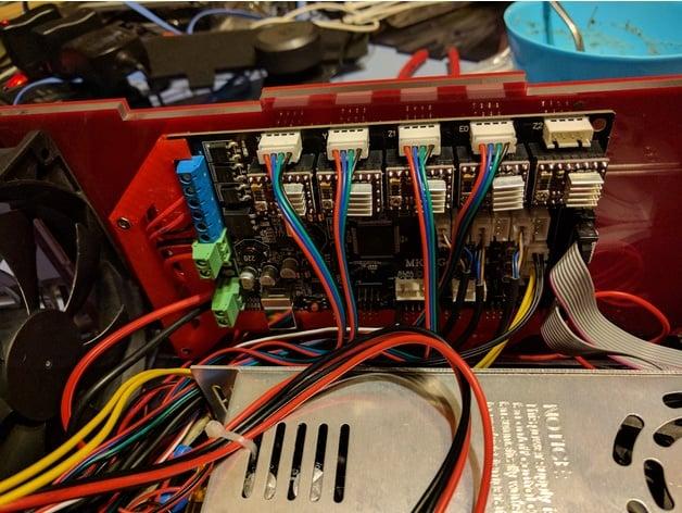 Tevo Black Widow Main Board Adapter By Rfenzo