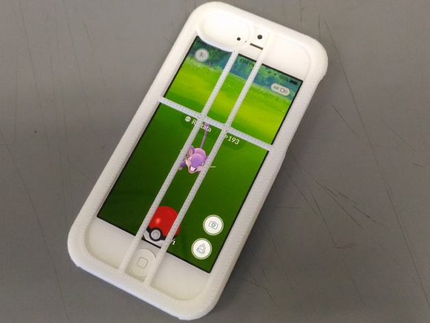 Pokemon GO Aimer Case For IPhone 55sSE By Tatzyr