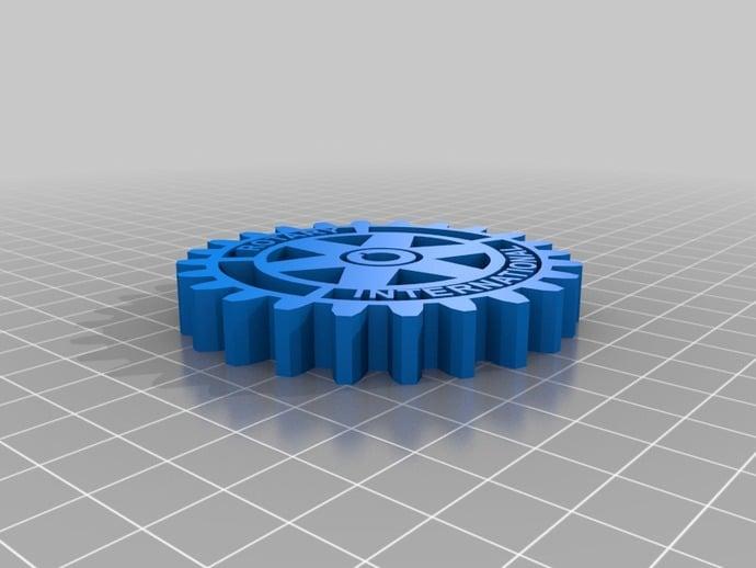 Logomarca Rotary Club International By Alexsandronl