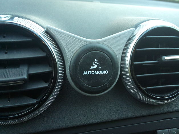 Audi Universal Magnetic Phone Holder Fits Between Round