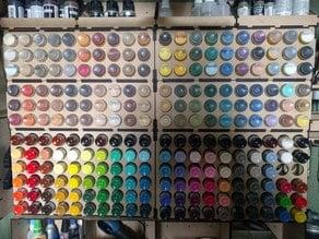 paint rack thingiverse
