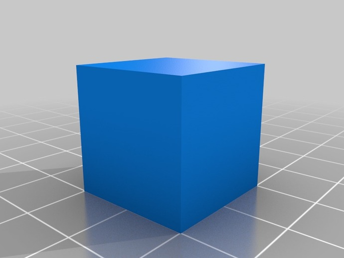 20mm Cube By Engineglue Thingiverse