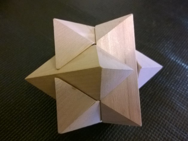 6 Piece Star Puzzle By Z80nm Thingiverse
