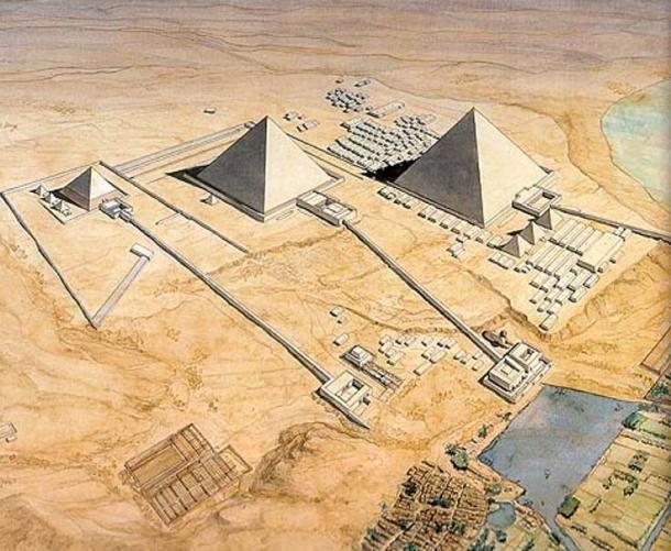 Map Pyramid Menkaure Inside