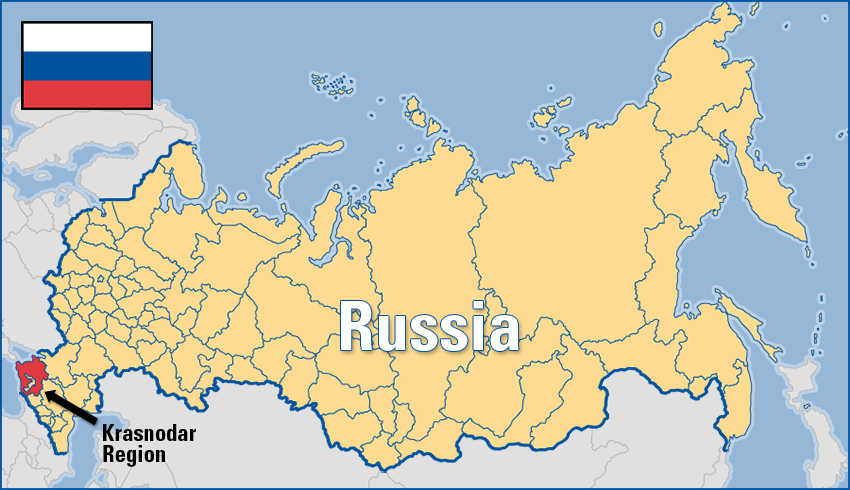 And Moscow Map Russia Sochi