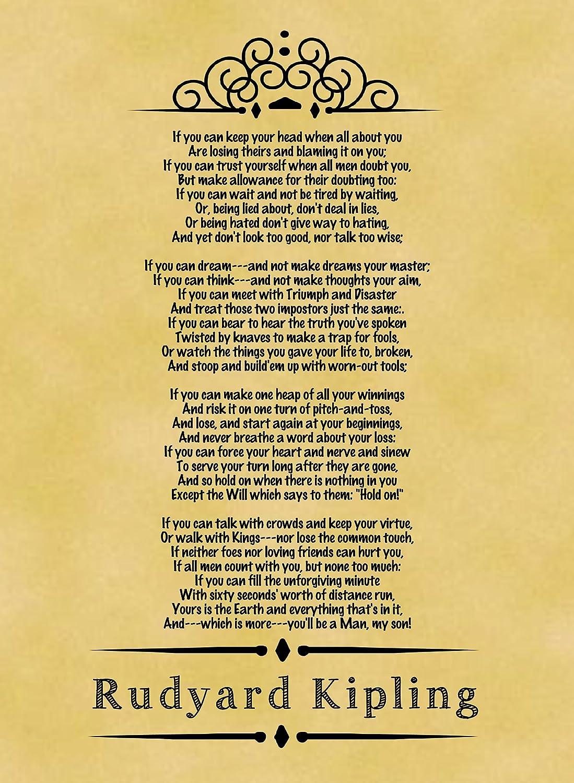 Rudyard Poster Kipling If