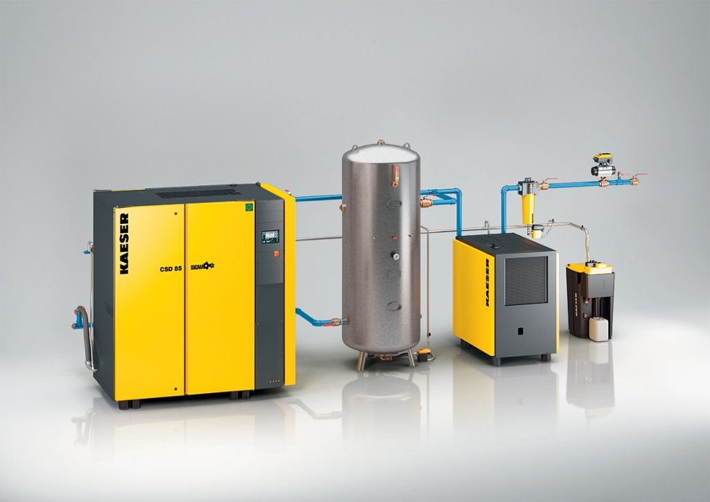 Compressed Air Products and Solutions by Kaeser Compressors