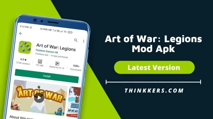 Legions of War Art Mod Apk