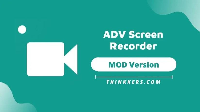 Screen Recorder ADV Mod Apk