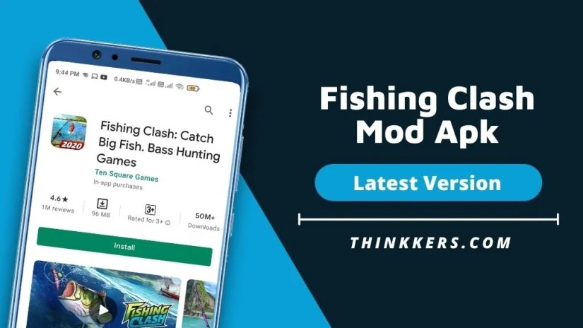 Fishing Shock Mod Apk