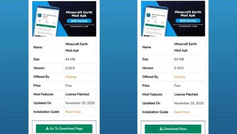 Download Minecraft Earth Mod Apk