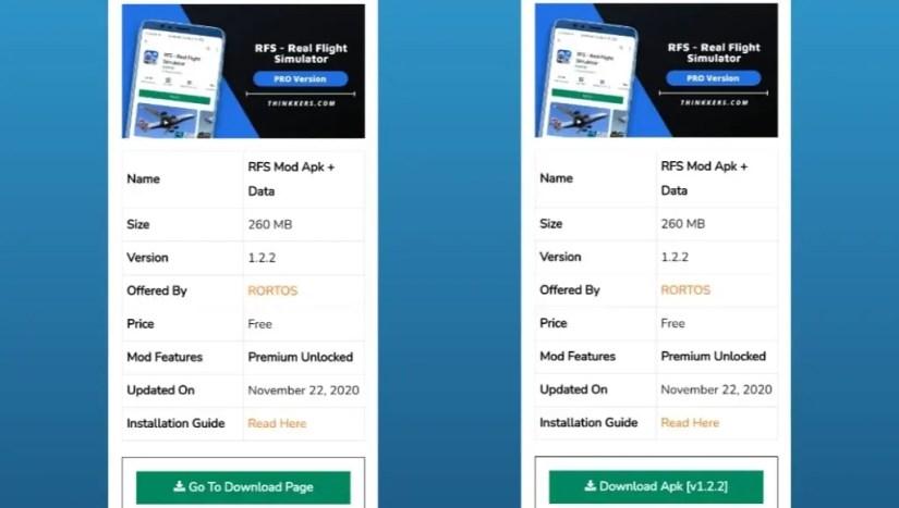 RFS - Real Flight Simulator Mod Apk Download