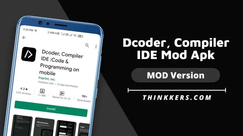 Decoder, compile IDE MOD Apk