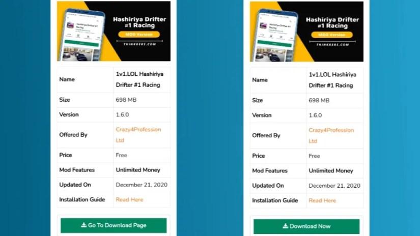 Download Hashiriya Drifter Mod Apk