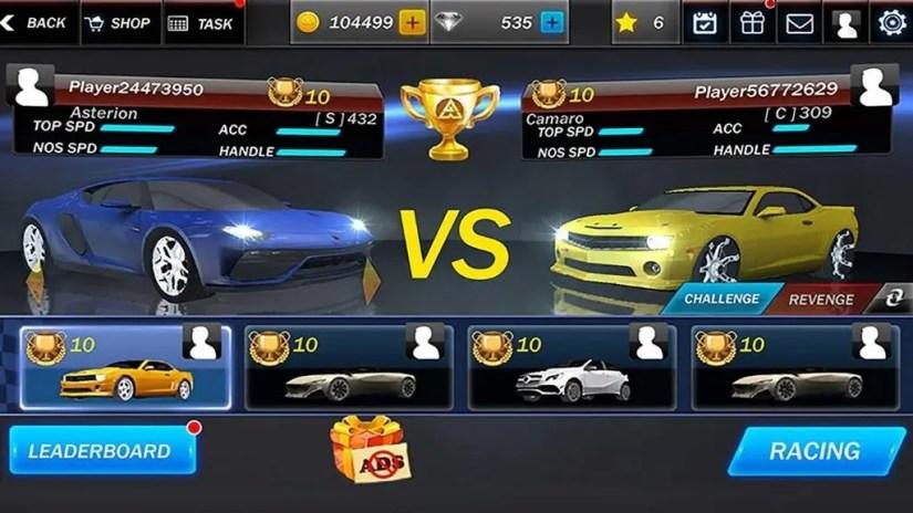 3D Street Racing Cars Unlocked
