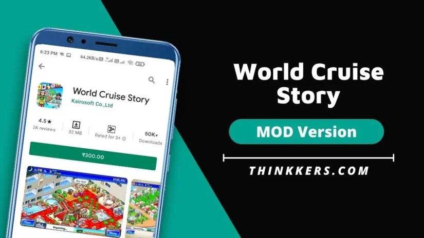 History of a world cruise ship Mod Apk