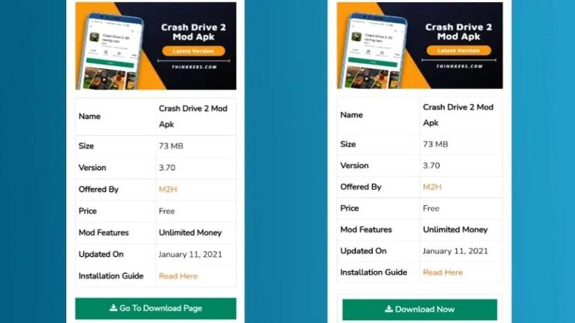 Download Crash Drive 2 Mod Apk
