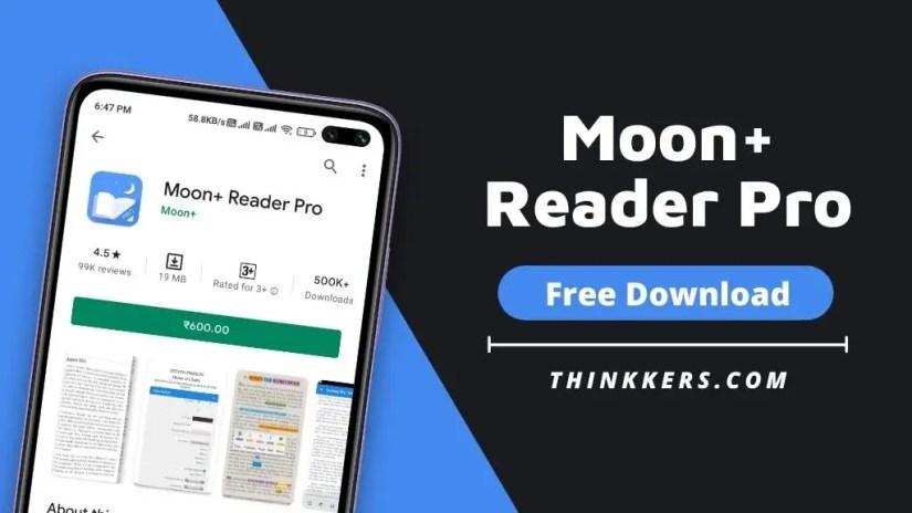 Moon + Reader Pro Apk