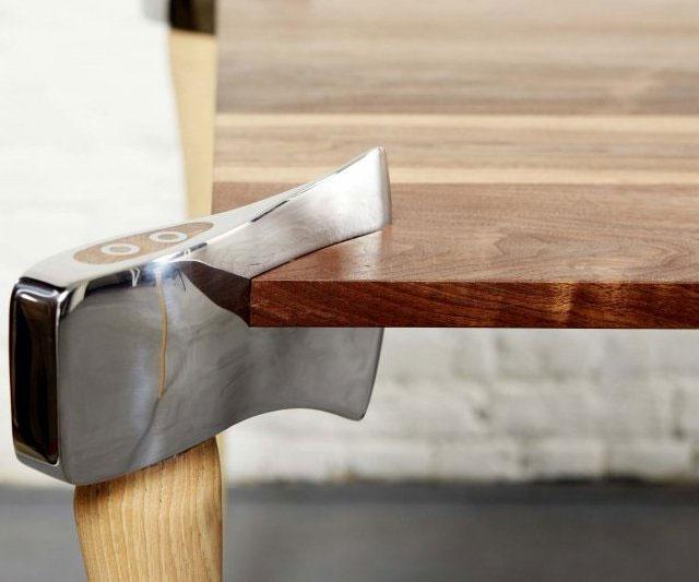 axe legs coffee table