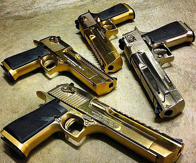 50 Desert Eagle Caliber Commando