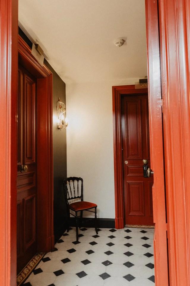 Saint James Paris Hotel design
