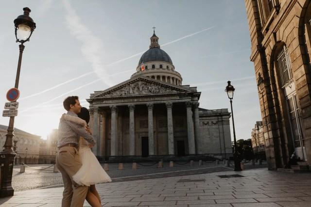 Couple photography Paris August Dancing