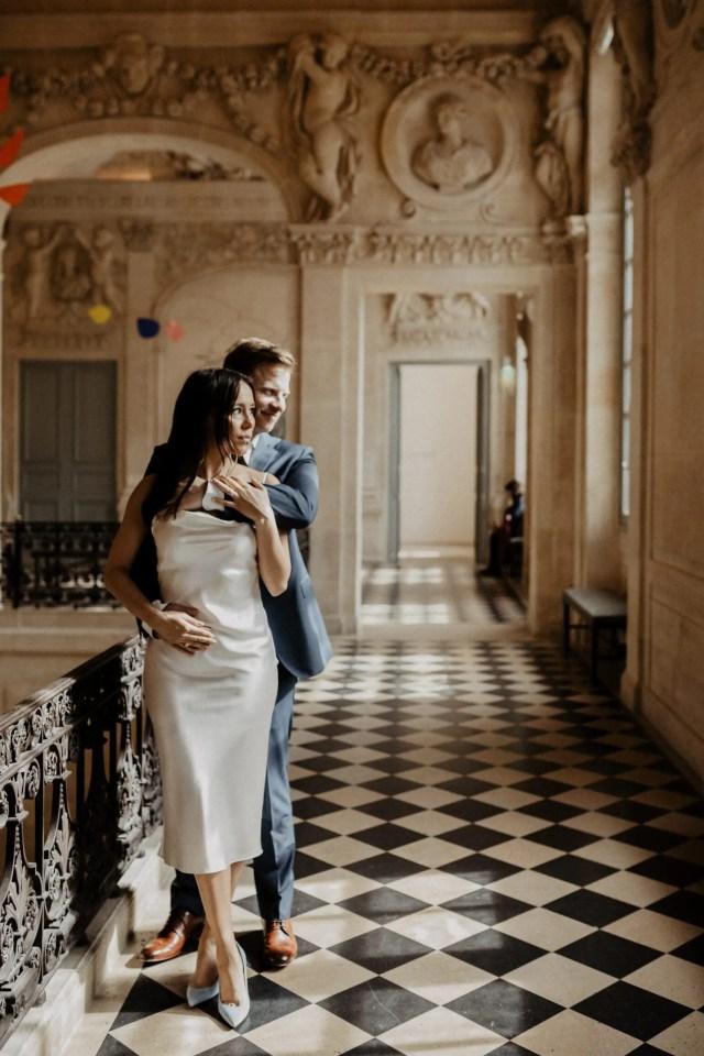 Paris elopement photographer picasso museum