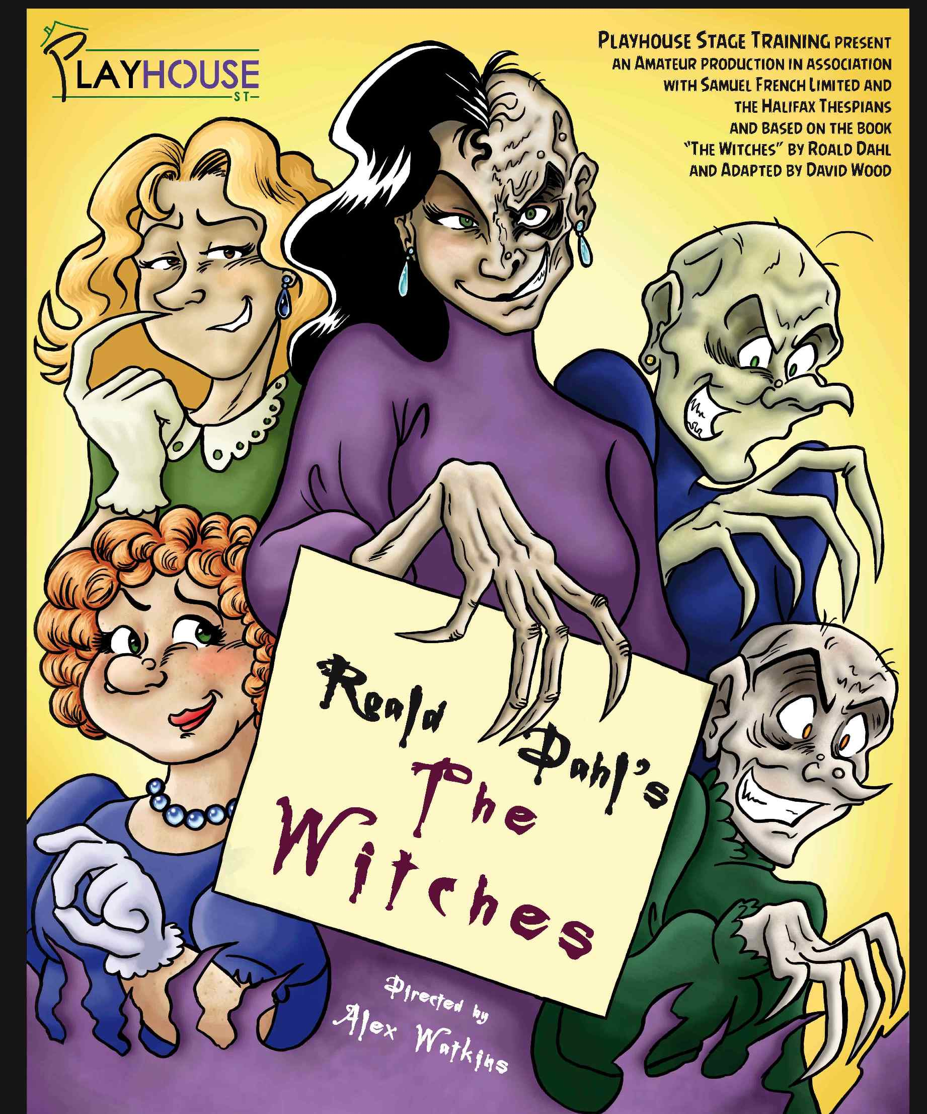 Playhouse St Present The Witches By Roald Dahl At Halifax