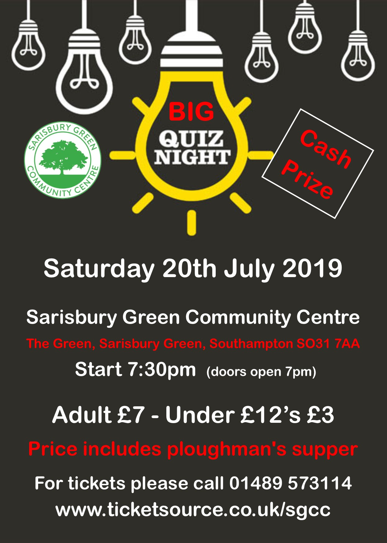 Sarisbury Green Community Centre Event Tickets From Ticketsource