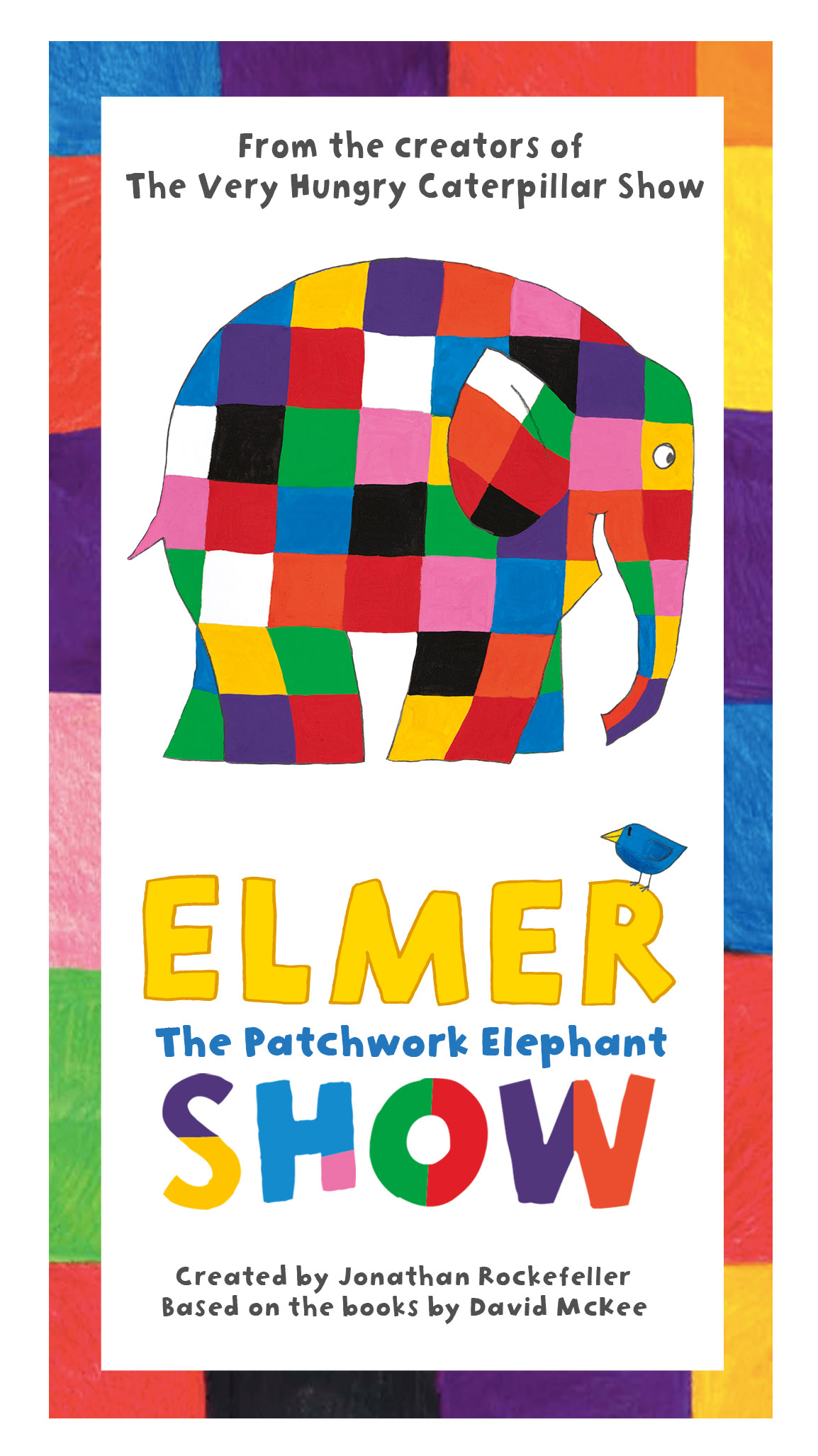 Elmer The Patchwork Elephant At Burgess Hall Event Tickets