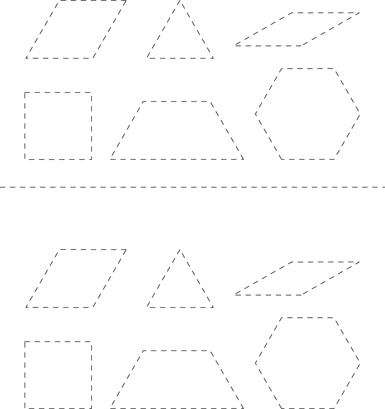 Download Pattern Block Template 2 For Free
