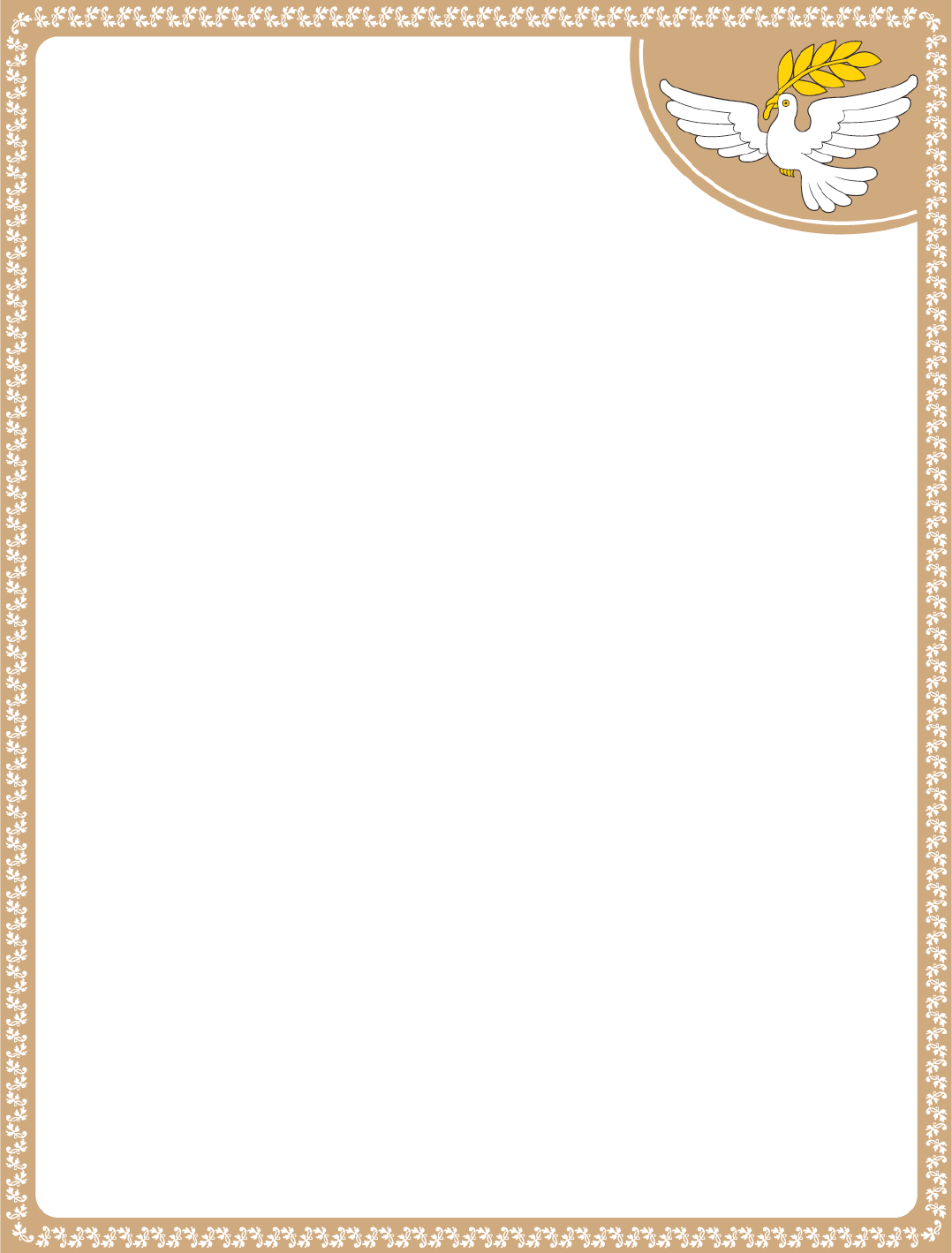 Download Printable Word Dove Letterhead Template For Free For Free