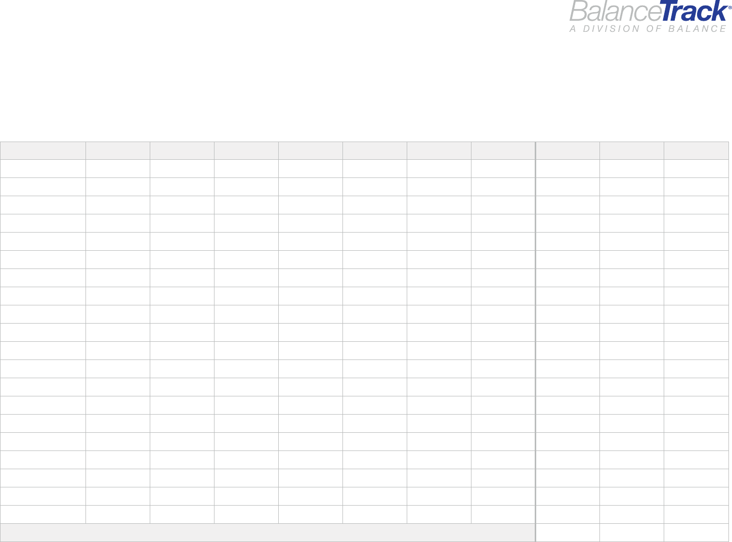 Download Weekly Expense Tracking Worksheet Free