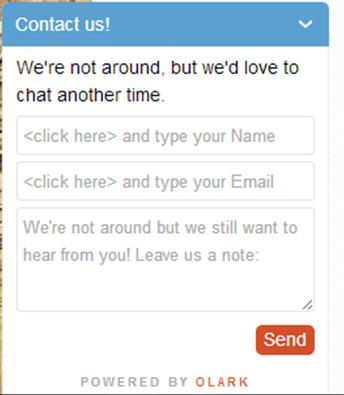 Chat en tu página web