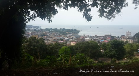 Freetown Vista From Parliament Building