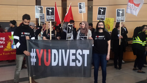 JDL, #YUDIVEST, York University